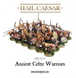 '.28mm Celtic Warriors.'