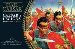 Warlord Games 28mm Hail Caesar: Caesar's Legions w/Gladius (24) (Plastic)