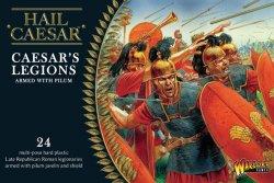 Warlord Games 28mm Hail Caesar: Caesar's Legions w/Pilum (24) (Plastic)