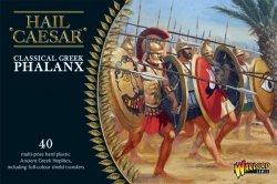 Warlord Games 28mm Hail Caesar: Classical Greek Phalanx (40) (Plastic)