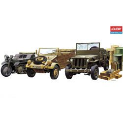 Academy 1/72nd Scale WWII Ground Vehicles Model Kit 13416