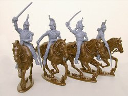'.French Cuirassiers .'