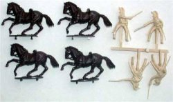 A Call To Arms Plastic 1/32 Napoleonic Wars: French Dragoons (8)