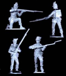 A Call To Arms Plastic 1/32 Napoleonic Wars: Waterloo Belgium Infantry (16)