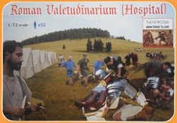 Linear-B 1/72 Roman Valetudinarium (Hospital) (52 Figures)