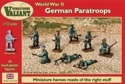 Valiant Miniatures 1/72 WWII German Paratroops (24)