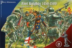 Perry Miniatures 28mm War of the Roses Foot Knights 1450-1500 (38) 304