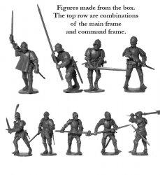 '.Foot Knights 1450-1500 .'