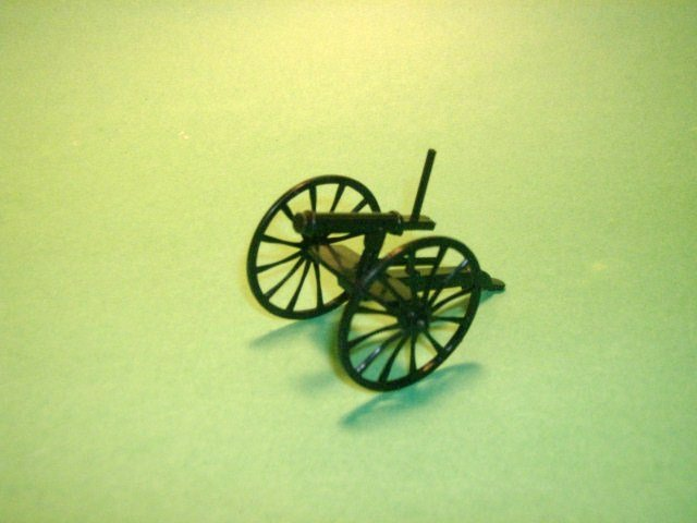 Image 0 of Black Plastic 2 BMC Toys Gatling Guns