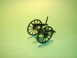 Black Plastic 2 BMC Toys Gatling Guns