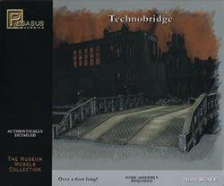 Pegasus Plastic 28mm Technobridge Model Kit