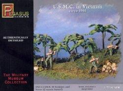Pegasus 1/72nd Scale U.S.M.C. In Vietnam 1965 Soldiers Set
