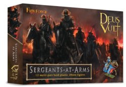 Fireforge Games 28mm 28mm Deus Vult Sergeants at Arms (12 Mtd) G7