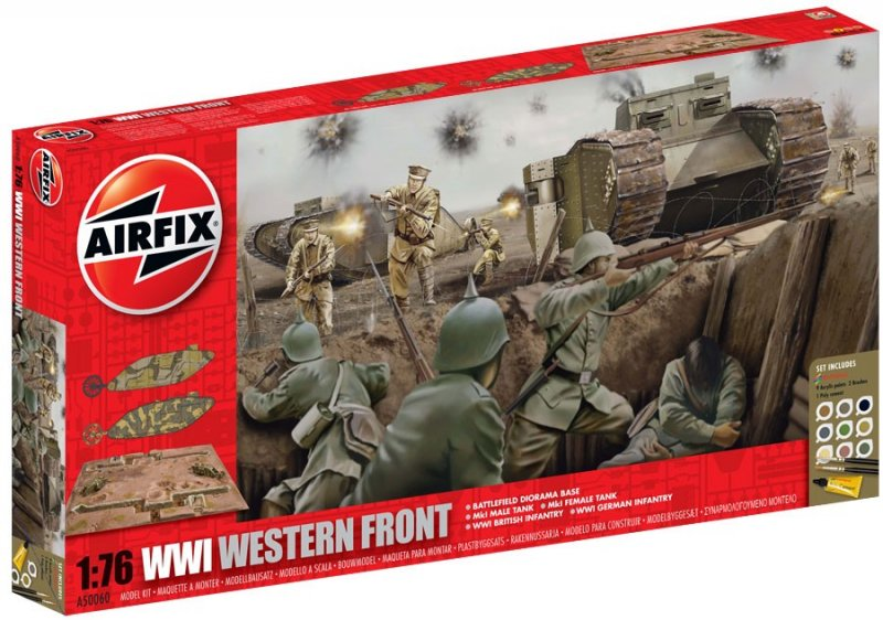 Art Car Museum >> Airfix 1/76th Scale WWI Western Front Diorama Playset