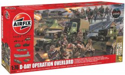 Airfix 1/76th Scale D-Day WWII Operation Overlord Diorama Playset