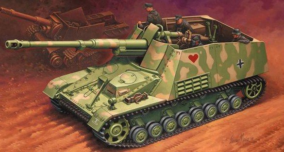Image 0 of Revell 1/72 SdKfz 164 Nashorn Armed Tankhunter Destroyer