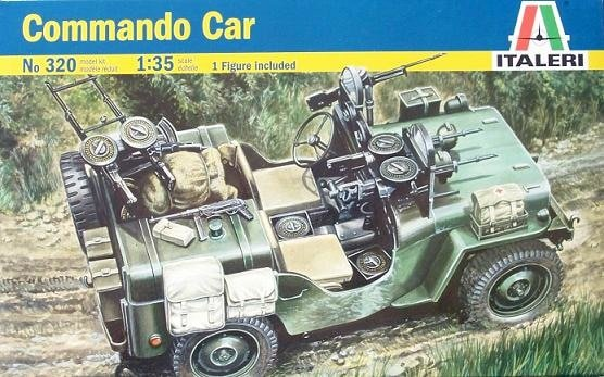 Image 0 of Italeri 1/35 Commando Military Car