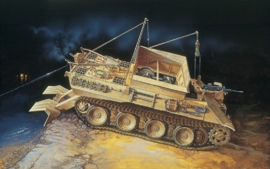 Image 0 of Italeri 1/35 SdKfz 179 Bergepanther Recovery Vehicle