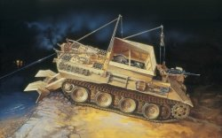 Italeri 1/35 SdKfz 179 Bergepanther Recovery Vehicle