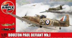 Airfix 1/72 Boulton Paul Defiant Mk I Night Fighter Model Kit