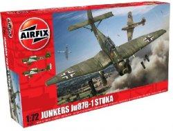 Airfix 1/72 Junkers Ju87B1 Stuka Fighter Model Kit
