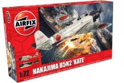 Airfix 1/72 Nakajima B5N2 Kate Bomber Model Kit