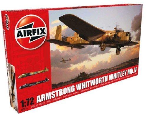 Image 0 of Airfix 1/72 Armstrong Whitworth Whitley Mk V RAF Bomber Model Kit