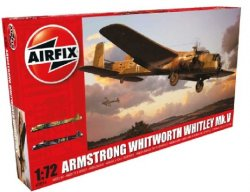 Airfix 1/72 Armstrong Whitworth Whitley Mk V RAF Bomber Model Kit