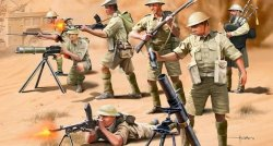 Revell 1/76th Scale British 8th Army Plastic Soldiers Set