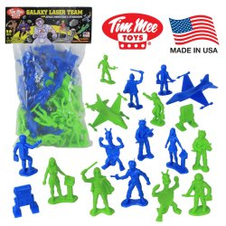 TimMee Galaxy Laser Team 54mm 50 Pc Space Figures Set