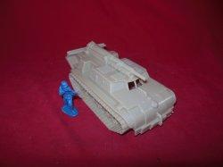 Marx Recast Hard Plastic M12 Tank Destroyer