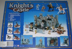 Medieval Style Castle And Knights Set