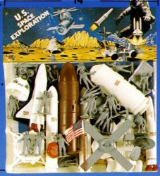 Deluxe 1/32 US Space Exploration Giant Playset