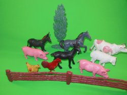 '.Farm Animals Set.'