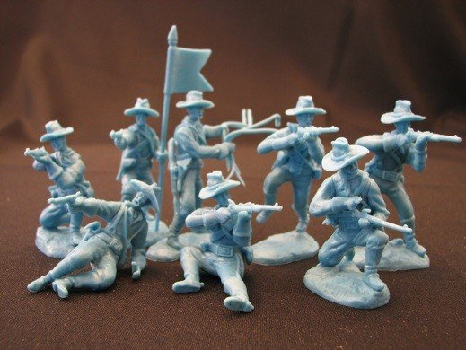 Image 0 of Paragon Miniatures 1/32 US Cavalry Dismounted Horse Handlers Figure Set #5 (16)