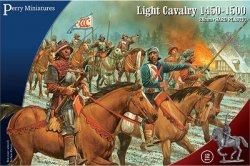 Perry Miniatures 28mm War of the Roses Mounted light Cavalry 1450-1500 (12) 305
