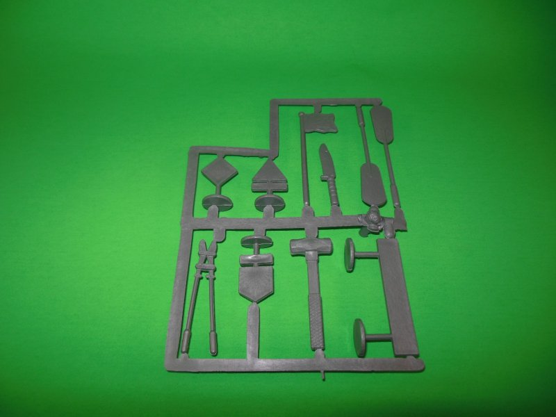 Various Pieces On Sprue