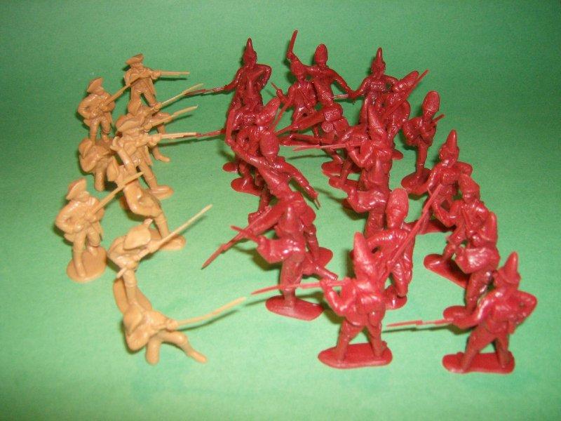 Image 0 of BMC Toys Battle Of Lexington Green Plastic Soldiers Set