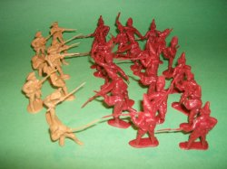 BMC American Revolutionary War Plastic Soldiers Set