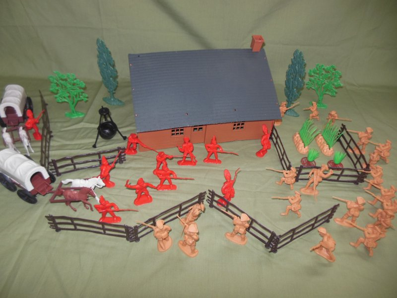 Image 0 of TSD Revolutionary War Frontier Raid Limited Edition Playset