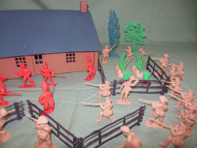 Image 2 of TSD Revolutionary War Frontier Raid Limited Edition Playset
