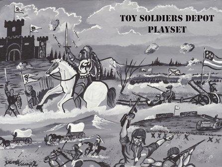Image 4 of TSD Revolutionary War Frontier Raid Limited Edition Playset