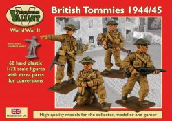Valiant Miniatures 1/72 WWII British Tommies 1943/45 (68)