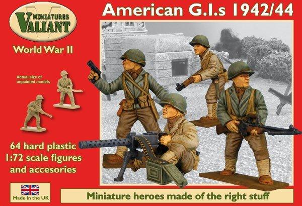 Image 0 of Valiant Miniatures 1/72 WWII American GI's 1942/44 (68)