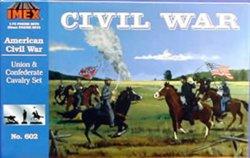 Imex 1/72 Union & Confederate Cavalry Civil War Figure Set 602