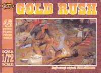 Image 0 of Nexus 1/72nd Scale Western Gold Rush Plastic Figures Set