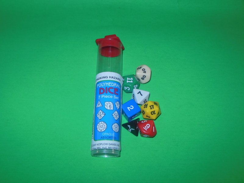 Image 0 of Koplow Games Inc 7 Pc Polyhedral DICE Tube Set