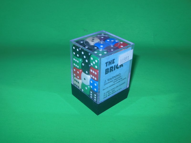 Image 0 of Koplow Games Inc 12mm Round Opaque Color 36pc DICE Set