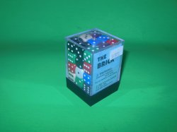 Koplow Games Inc 12mm Round Opaque Color 36pc DICE Set