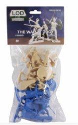 LOD Enterprises War Of Troy Ancient Greek Plastic Figures Set